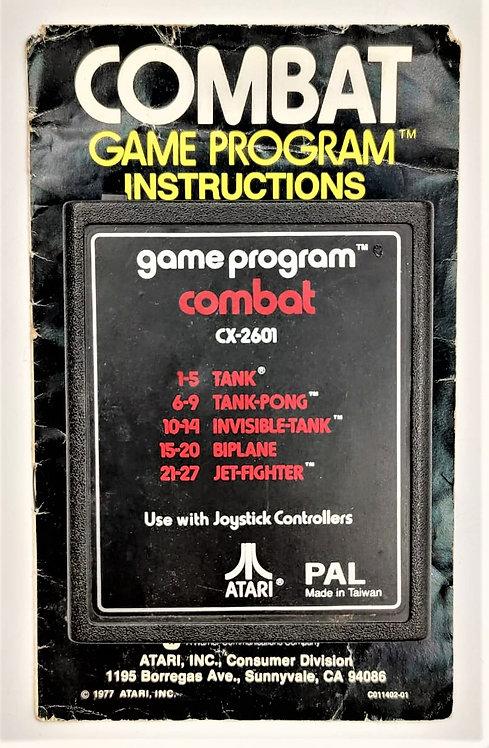 Combat for Atari 2600