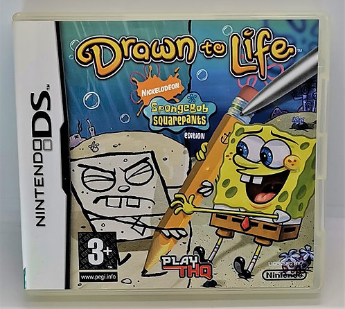 Drawn to Life: SpongeBob SquarePants Edition for Nintendo DS