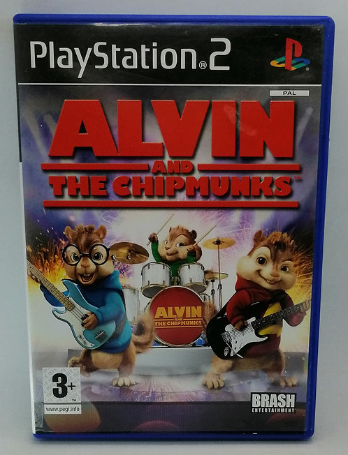 Alvin and the Chipmunks for Sony PlayStation 2 PS2