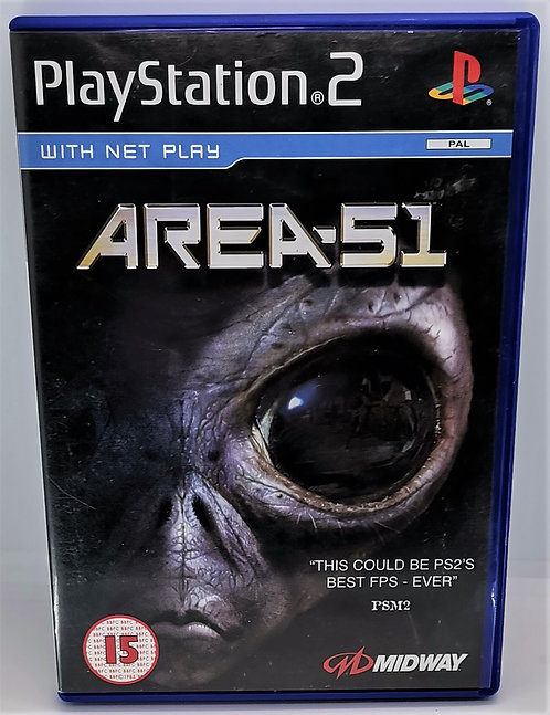 Area 51 for Sony PlayStation 2 PS2