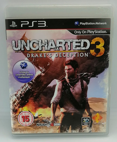 Uncharted 3: Drake's Deception for Sony PlayStation 3 PS3
