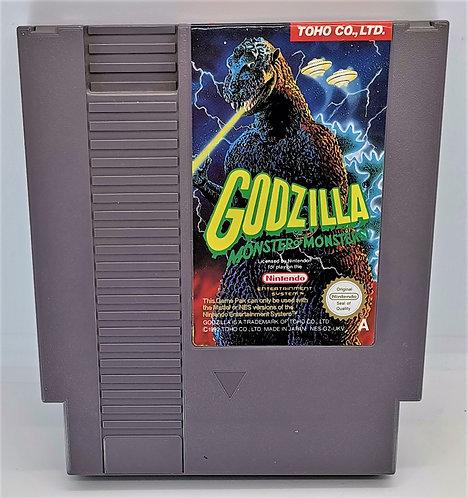 Godzilla: Monster of Monsters for Nintendo NES