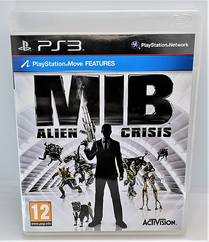 MIB: Alien Crisis for Sony PlayStation 3 PS3