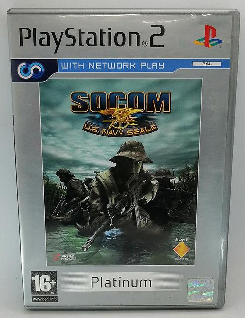 SOCOM U.S. Navy SEALs for Sony PlayStation 2 PS2