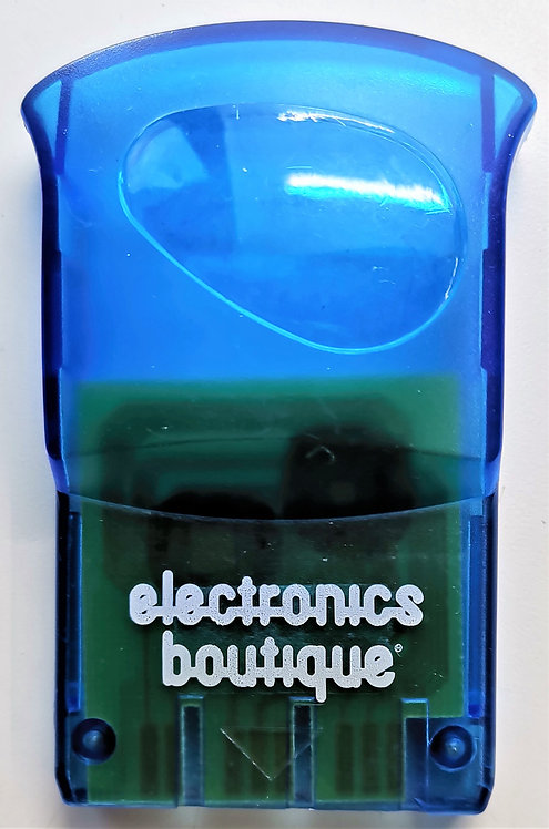 Electronics Boutique 1MB Memory Card (Clear Blue) for Sony PlayStation PS1