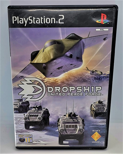 Dropship: United Peace Force for Sony PlayStation 2 PS2