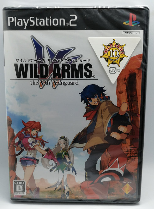 Wild Arms: The Vth Vanguard for Sony PlayStation 2 PS2
