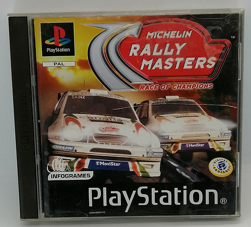 Michelin Rally Masters: Race of Champions for Sony PlayStation PS1