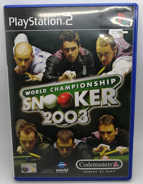 World Championship Snooker 2003 for Sony PlayStation 2 PS2