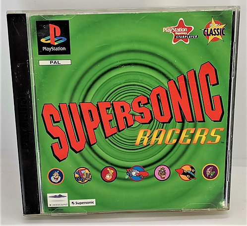 Supersonic Racers for Sony PlayStation PS1