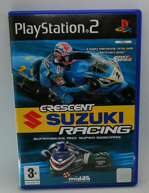Crescent Suzuki Racing for Sony PlayStation 2 PS2