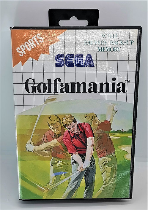 Golfamania for Sega Master System