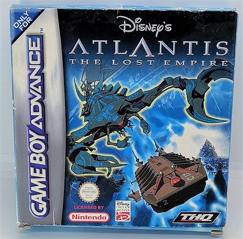 Disney's Atlantis: The Lost Empire for Nintendo Game Boy Advance