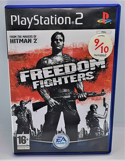 Freedom Fighters for Sony PlayStation 2 PS2