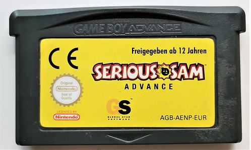 Serious Sam Advance for Nintendo Game Boy Advance GBA