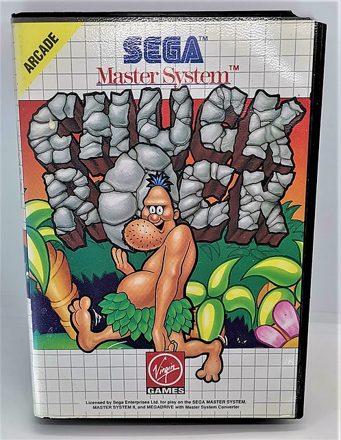 Chuck Rock for Sega Master System