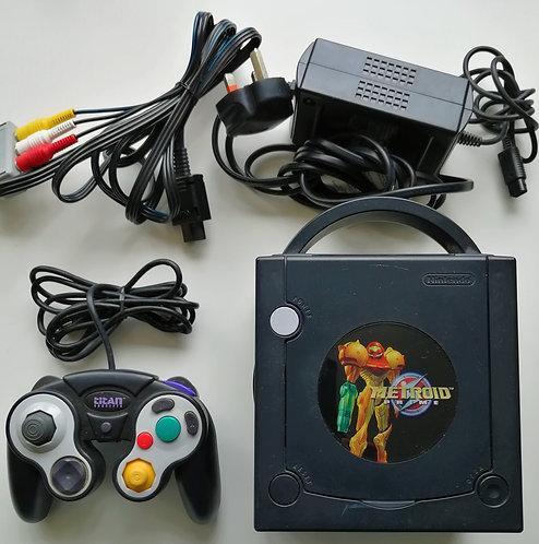 Nintendo GameCube Black (Metroid Prime) Console