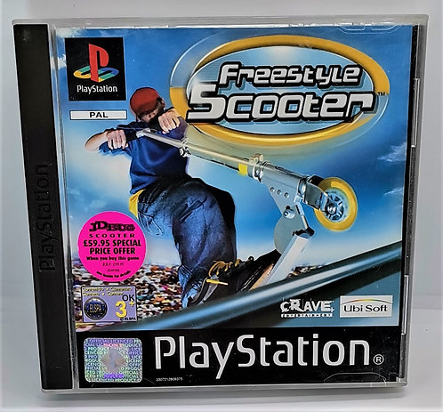 Freestyle Scooter for Sony PlayStation PS1