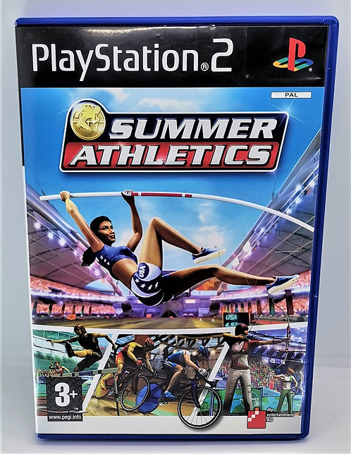 Summer Athletics for Sony PlayStation 2 PS2