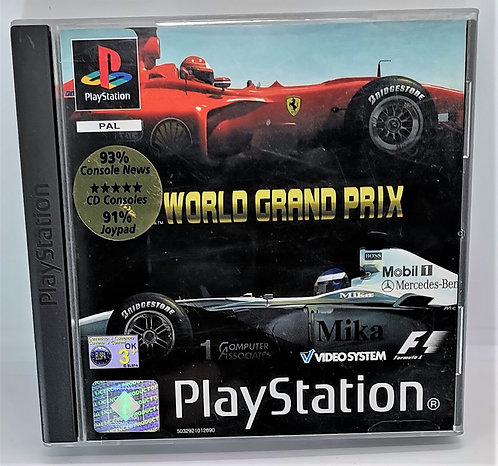 F1 World Grand Prix for Sony PlayStation PS1