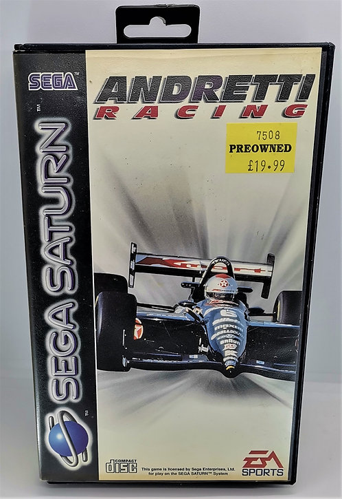 Andretti Racing for Sega Saturn