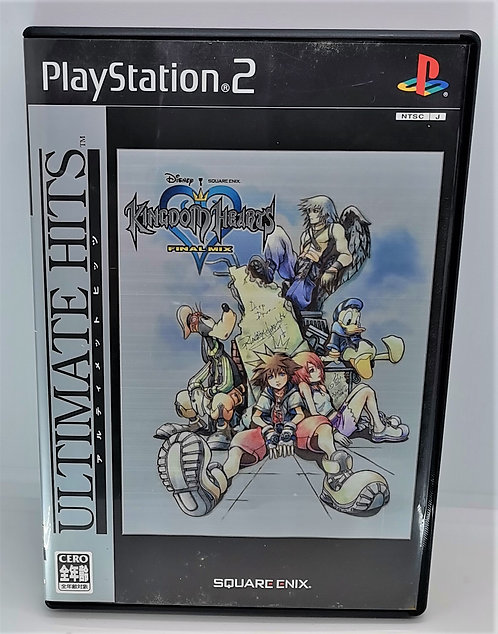 Kingdom Hearts: Final Mix for Sony PlayStation 2 PS2