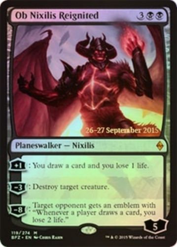 MAGIC THE GATHERING BATTLE FOR ZENDIKAR (FOIL PR) - 119/274 Ob Nixilis Reignited