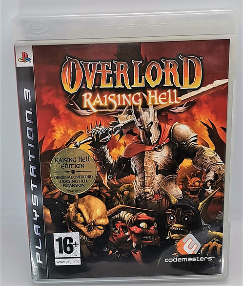 Overlord: Raising Hell for Sony PlayStation 3 PS3