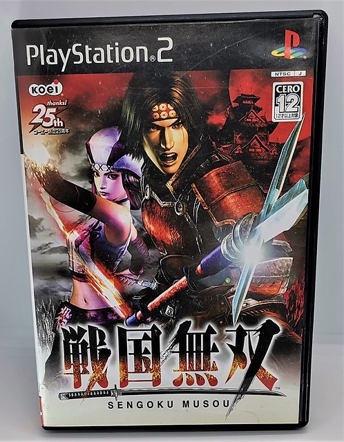 Samurai Warriors for Sony PlayStation 2 PS2