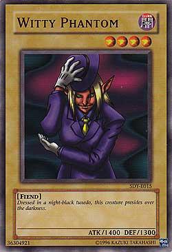 Yu-Gi-Oh! Card SDY-E015 Witty Phantom