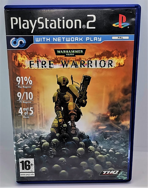 Warhammer 40,000: Fire Warrior for Sony PlayStation 2 PS2