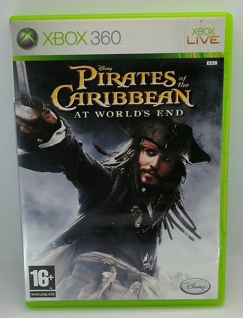 Pirates of the Caribbean: At World's End for Microsoft Xbox 360