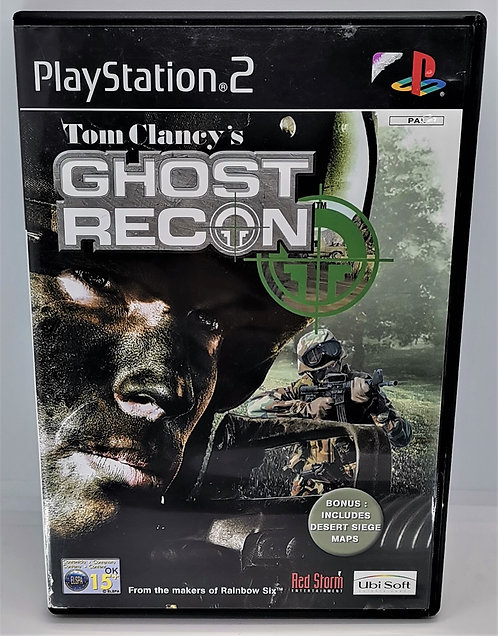 Tom Clancy's Ghost Recon for Sony PlayStation 2 PS2