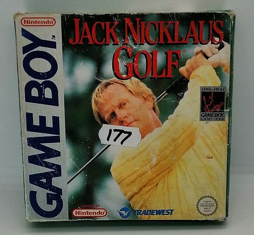 Jack Nicklaus Golf for Nintendo Game Boy