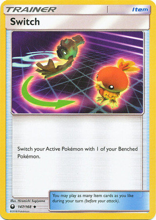 POKEMON Single Card SUN AND MOON - CELESTIAL STORM - 147/168 : Switch