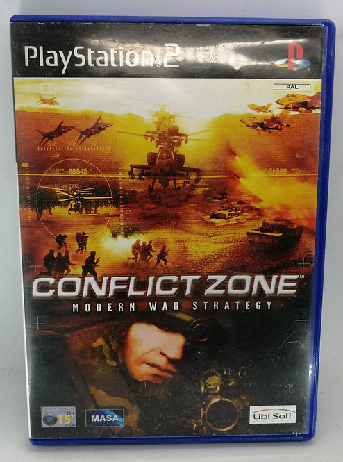 Conflict Zone for Sony PlayStation 2 PS2