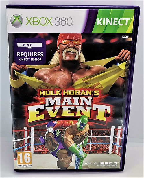 Hulk Hogan's Main Event for Microsoft Xbox 360
