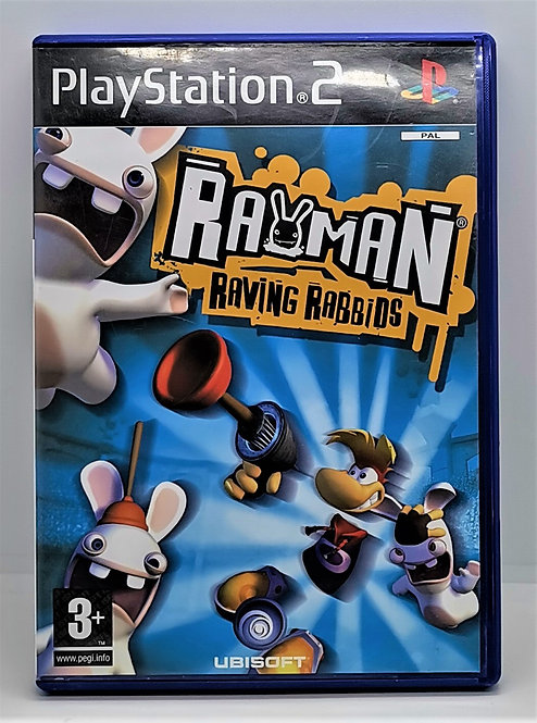 Rayman: Raving Rabbids for Sony PlayStation 2 PS2
