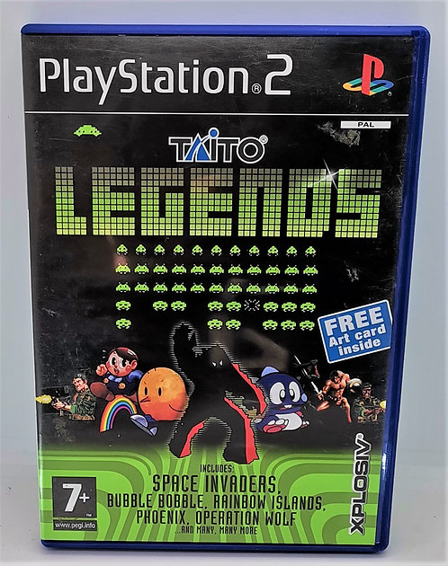 Taito Legends for Sony PlayStation 2 PS2
