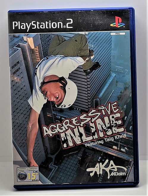 Aggressive Inline for Sony PlayStation 2 PS2