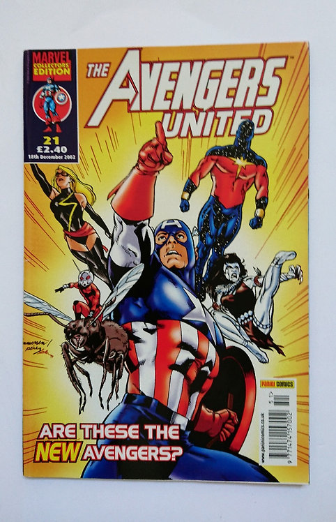 The Avengers United Vol 1 #21
