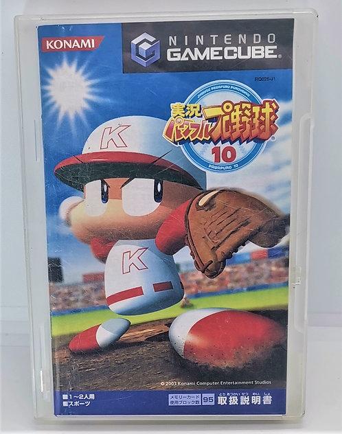 Jikkyou Powerful Pro Yakyuu 10 for Nintendo GameCube