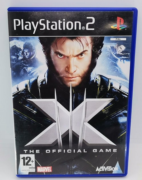 X-Men: The Official Game for Sony PlayStation 2 PS2