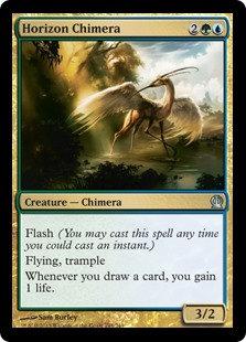 MAGIC THE GATHERING THEROS Card - 194/249 : Horizon Chimera