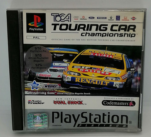 TOCA Touring Car Championship for Sony PlayStation PS1
