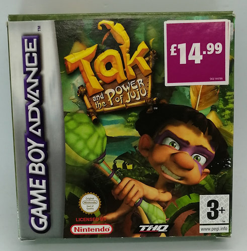 Tak and the Power of Juju for Nintendo Game Boy Advance GBA