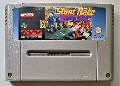 Stunt Race FX for Super Nintendo SNES
