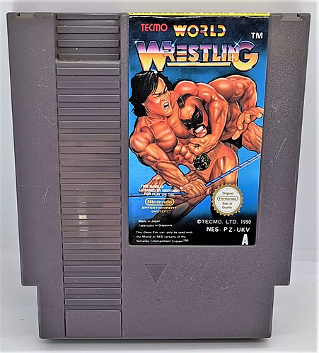 Tecmo World Wrestling for Nintendo NES