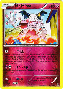 Pokemon Single Card XY - PRIMAL CLASH (Reverse Holo) - 101/160 : Mr. Mime