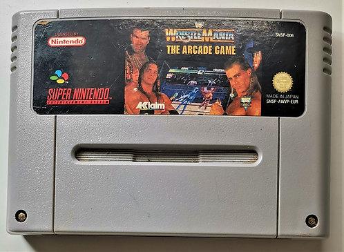 WWF WrestleMania: The Arcade Game for Super Nintendo SNES